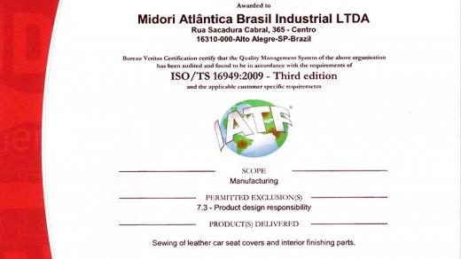 Certificado-ISO-TS - Alto Alegre