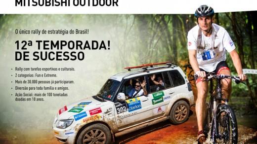 Rali Mitsubishi Outdoor 2015 - Midori Auto Leather #PatrocinadorOficial